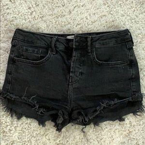 Black Forever 21 jean shorts